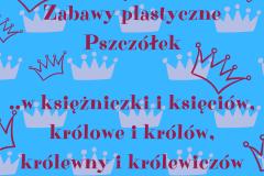 Zabawy plastyczne z koronami
