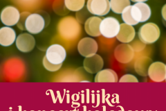 Wigilijka i koncert kolędowy